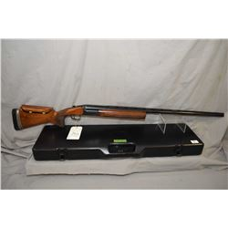 "Perazzi Model TM 1 .12 Ga Single Shot Break Action Trap Shotgun w/ 34"" vent rib bbl [ c/w original P"