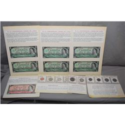 Six Centennial Canadian One Dollar Bills [ Note Three are Non Serial Number Special Edition 1867 - 1