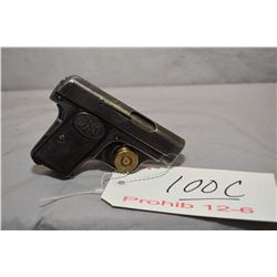 Prohib 12 - 6 F.N. Browning Model 1906 .25 Auto Cal 6 Shot Semi Auto Pistol w/ 54 mm bbl [ fading bl