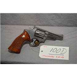 Prohib 12 - 6 Smith & Wesson Model 66 .357 Mag Cal 6 Shot Revolver w/ 102 mm bbl [ stainless finish,