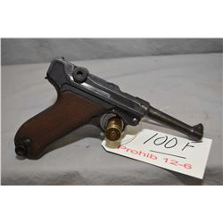 Prohib 12 - 6 Luger ( Erfurt ) Model P08 Double Dated ( 1920 1913 ) .9 MM Luger Cal 8 Shot Semi Auto