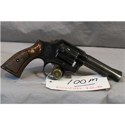 Prohib 12 - 6 Smith & Wesson Model 10 - 5 .38 Spec Cal 6 Shot Revolver w/ 102 mm bbl [ blued finish,