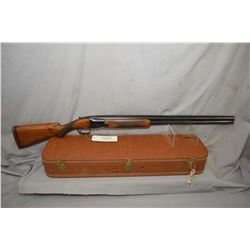 "Browning ( Belgian ) Model Superposed .12 Ga 2 3/4"" Over & Under Break Action Shotgun w/ 30"" vent ri"