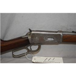 "Winchester Model 1894 .25 - 35 WCF Cal Lever Action Rifle w/ 26"" rnd bbl full mag [ traces of faded"