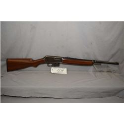 "Winchester Model 1907 SL .351 SL Cal Mag Fed Semi Auto Rifle w/ 20"" bbl [ blued finish, barrel appea"