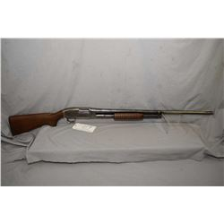"Winchester Model 12 .12 Ga 2 3/4"" Pump Action Shotgun w/ 30"" bbl [ fading blue finish, to grey in mo"