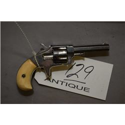 Antique - Iver Johnson ? Model Favorite No. 2 .32 Rimfire Cal 5 Shot Revolver w/ 76 mm bbl [ flaking