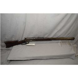 "Winchester Model 1886 .40 - 65 WCF Cal Lever Action Rifle w/ 26"" octagon bbl full mag [ patchy fadin"