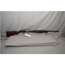 "Winchester Model 1912 .16 Ga Pump Action Shotgun w/ 26"" bbl [ fading blue finish more on carry areas"