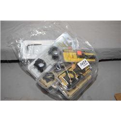 """Bag Lot : Assorted Burris Scope Rings [ sealed in orig pkgs ] : ( 1 ) 1"""" Zee Rings Steel Low Matte #"""