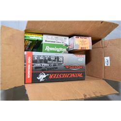 Box Lot of Ammo : One Box ( 50 rnds ) HSM .44 Mag Cal 305 Gr Bear Load WFN - One Box ( 100 rnds ) Wi