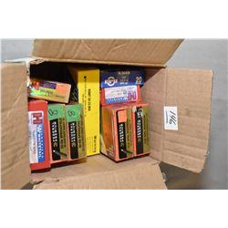 Box Lot of Ammo : One Box ( 20 rnds ) Buffalo Bore .38 - 55 Win Cal 255 Gr Bonded JFN - One Box ( 20