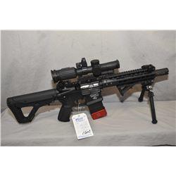 Restricted Noveske Model NSR - 9 ( Model N4 ) .300 Blackout Cal 5 Shot Semi Auto Rifle w/127 mm bbl