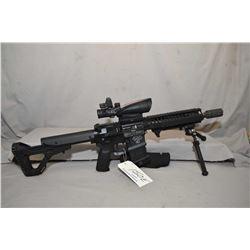 Restricted Noveske Model NSR - 10 - 5 ( Model N4 ) 5.56 Nato Cal 5 Shot Semi Auto Rifle w/ 368 mm bb