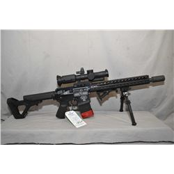 Restricted Noveske Model NSR - 13.5 ( Model N4 ) .300 Blackout Cal 5 Shot Semi Auto Rifle w/ 342 mm