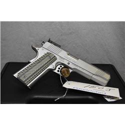 Restricted Handgun Kimber Model Stainless Target II .10 MM Auto Cal 8 Shot Semi Auto Pistol w/ 127 m