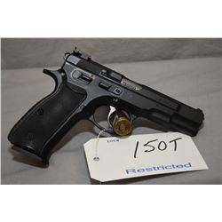 Restricted CZ Model CZ 85 Combat .9 MM Luger Cal 10 Shot Semi Auto PIstol w/ 120 mm bbl [ blued fini
