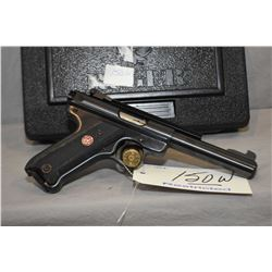 Restricted Ruger Model Mark III Target .22 LR Cal 10 Shot Semi Auto Pistol w/ 140 mm bbl [ appears e