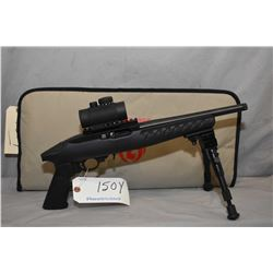 Restricted Ruger Model 22 Charger .22 LR Cal 10 Shot Semi Auto Pistol w/ 254 mm bbl [ appears excell