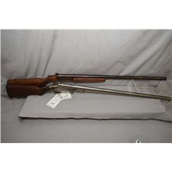 Lot of Two Firearms : Cooey by Winchester Western Model 840 .12 Ga Single Shotgun w/ 30  bbl [ blued