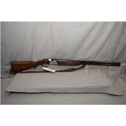 "Beretta Model S 55 .20 Ga 2 3/4"" Break Action Over & Under Shotgun w/ 28"" bbl [ blued finish, with v"