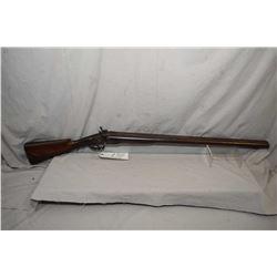 "Antique - W. Richards London Fine Twist Model Side By Side Hammer .10 Ga Perc Shotgun w/ 30"" bbls ["