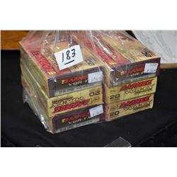 Bag Lot : Six Boxes ( 20 rnds per ) Barnes Vor - TX .30 - 06 Cal 150 Grain Ammo - Retail $ 54.99 Eac