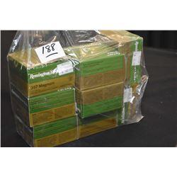 Bag Lot : Eight Boxes ( 25 rnds per ) Remington Golden Saber .357 Mag 125 Grain Ammo - Retail $ 42.9