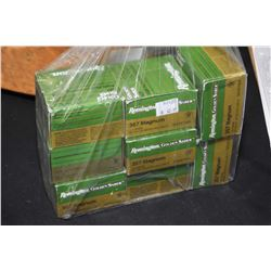 Bag Lot : Eight Boxes ( 25 rnds per ) Remington Golden Saber .357 Mag 156 Grain Ammo Retail $ 42.99
