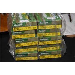 "Bag Lot : Ten Boxes ( 5 rnds per ) Remington .12 Ga 2 3/4"" Bonded Sabot Slugs 385 Grain Retail $ 21."