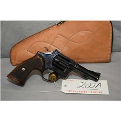 Prohib 12 - 6 Smith & Wesson Model 15 - 2 .38 Spec Cal 6 Shot Revolver w/ 102 mm bbl [ blued finish,