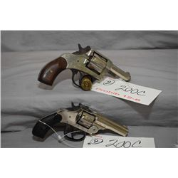 Prohib 12 - 6 Lot of Two Handguns - Harrington & Richardson Model Automatic Ejecting .22 LR Cal 7 Sh