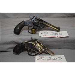 Prohib 12 - 6 Lot of Two Handguns - Harrington & Richardson Model American Double Action . 32 S & W