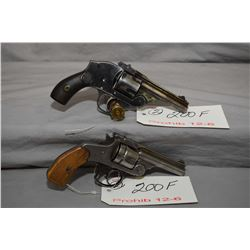 12 -6 Prohib - Lot of Two Handguns - Smith & Wesson Model 38 Double Action Second Model .38 S & W Ca