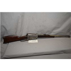 "Winchester Model 1895 .30 US Cal ( .30 - 40 Krag Cal ) Lever Action Rifle w/ 21 1/4"" bbl [ fading bl"