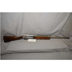 "F.N. Browning's Patent Model Auto 5 .12 Ga 2 3/4"" Semi Auto Shotgun w/ 28"" bbl [ traces of blue in p"