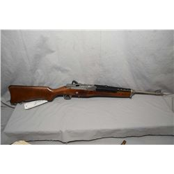 "Ruger Model Mini 14 .223 Cal Mag Fed Semi Auto Carbine w/ 18 1/2"" bbl [ appears as new, in orig box,"