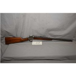 "Remington Model 4 Rolling Block .22 LR Cal Single Shot Rifle w/ 22 1/2"" round bbl [ fading blue fini"