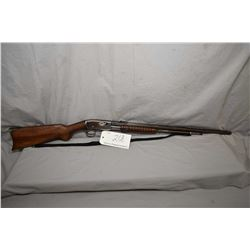 "Remington Model 12 .22 Rem Spec ONLY Cal Tube Fed Pump Action Rifle w/ 24"" octagon bbl [ fading blue"