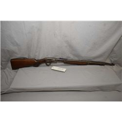 "Savage Model 29 - A .22 LR Cal Tube Fed Pump Action Rifle w/ 24"" bbl [ faded blue finish turning bro"