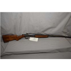 "Iver Johnson Model Champion .20 Ga Single Shot Break Action Shotgun w/ 28"" bbl [ blued finish, case"