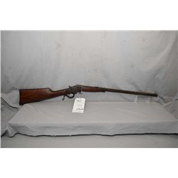 "Stevens Model Favorite .32 Rimfire Cal Falling Block Rifle w/ 22"" part octagon bbl [ fading blue fin"