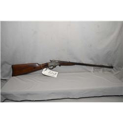 "Stevens Model No 12 .22 LR Cal Single Shot Rifle w/ 22"" bbl [ fading blue finish, barrel sights, fai"