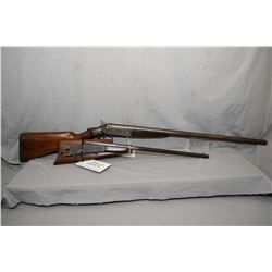 "Lot of Two Firearms : Hopkins & Allen Model Single Barrel .16 Ga Break Action Shotgun w/ 28"" bbl [ t"