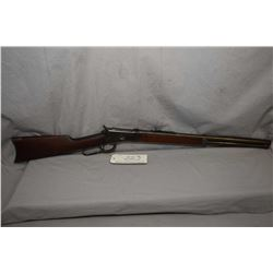 "Winchester Model 1892 .44 WCF Cal Lever Action Rifle w/ 21 1/4"" round bbl full mag [ fading blue fin"