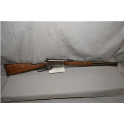 "Winchester Model 1894 .30 WCF Cal Lever Action Saddle Ring Carbine w/ 20"" bbl [ traces of blue finis"