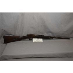 "Winchester Model 1903 .22 Win Auto Cal Tube Fed Semi Auto Rifle w/ 20"" bbl [ blued finish fading and"