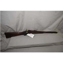 Sharps ( Lawrence Pat. ) Model 1859 New Model .52 Perc Cal Lever Action Falling Block Saddle Ring Ca