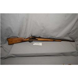 "U.S. Springfield Model 1884 Trapdoor .45 - 70 Cal Single Shot Sporterized Rifle w/ 24 1/2"" cut down"