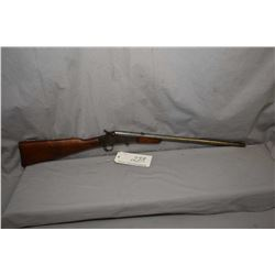 "Remington No. 6 Rolling Block .22 LR Cal Single Shot Rifle w/ 20"" bbl [ traces of fading blue finish"